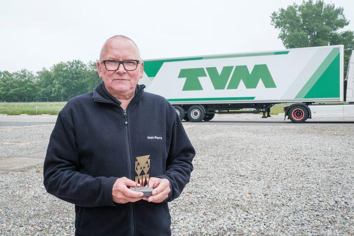 Jean-Pierre Mees (66) uit Walem is Dé Gouden Ridder van de Weg 2021
