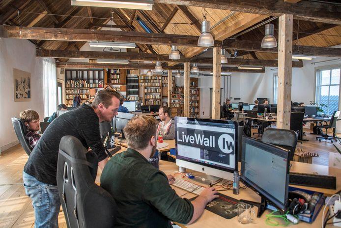 Het bedrijf dat in 2011 als idee ontstond, dat in 2014 al achttien medewerkers telde en waar nu - vijf jaar later - zo'n 70 mensen werken.