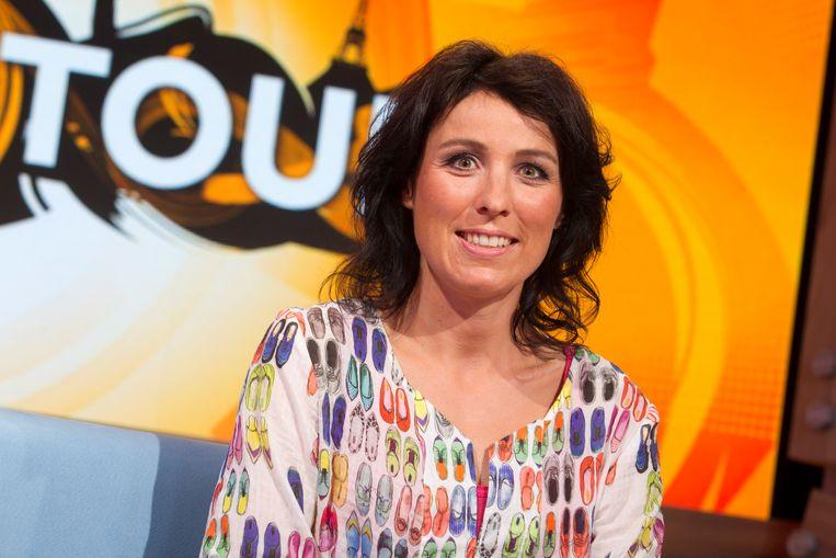 De Nederlandse columniste Marijn de Vries hoopt dat ze kan blijven fietsen. Beeld ANP Kippa