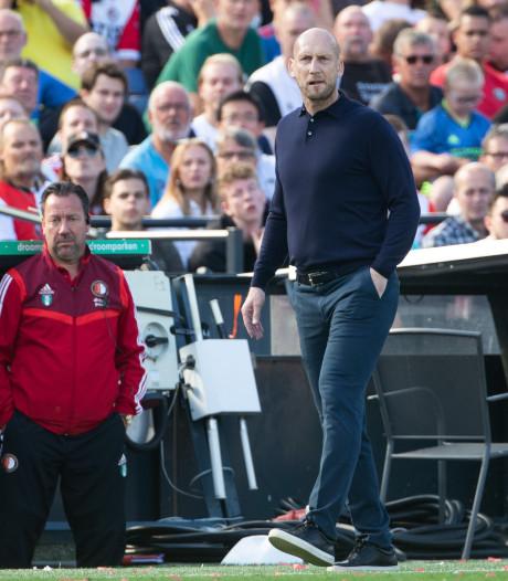Feyenoord laat Stam nog even zweten
