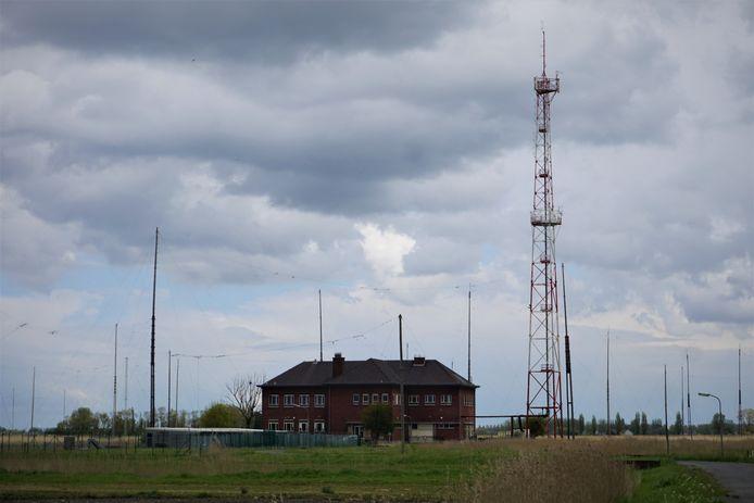 Militair domein Schorreweide - of Kamp 't Pompje - in Oudenburg.