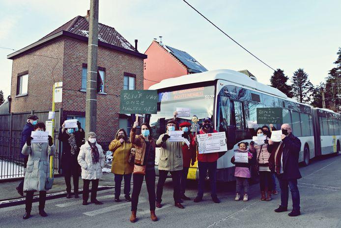 De actiegroep zette al meerdere protestacties op poten.