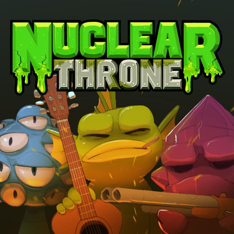 Nuclear Throne is genadeloos: wie sterft, moet helemaal opnieuw beginnen. Beeld rr