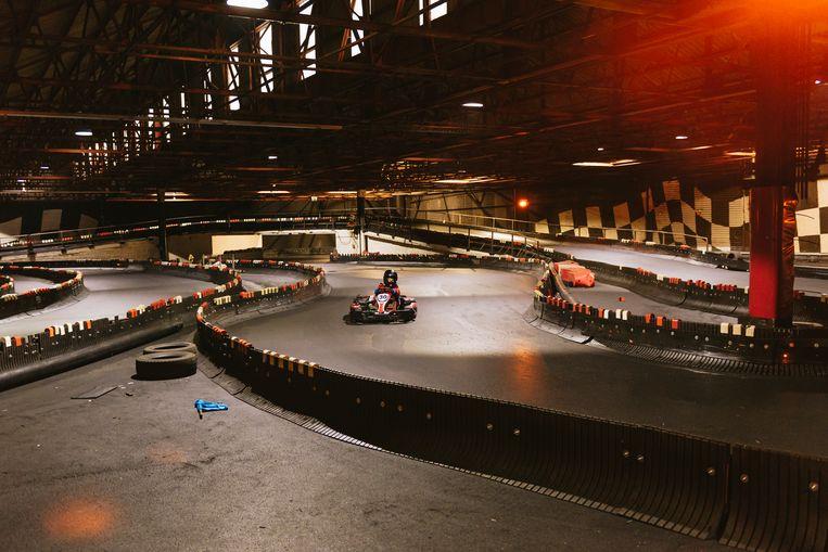 Het circuit van Worldkarts in Kortrijk, waar het allemaal begon voor Stoffel Vandoorne. Beeld Illias Teirlinck