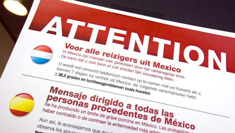 In Nederland hebben 118 mensen de Mexicaanse griep opgelopen. Foto ANP Beeld