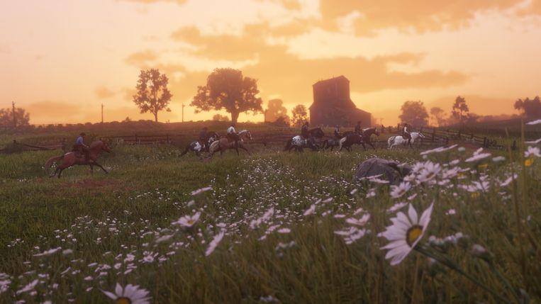 Het weidse 'Red Dead Redemption II' vraagt minstens 60 uur om goed te worden ontdekt. Hebt u die tijd op overschot? Beeld Rockstar Games