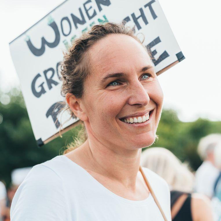 Merel van Meerkerk (36). Beeld Rebecca Fertinel