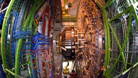 Archiefbeeld uit de Large Hadron Collider (LHC) van het CERN.