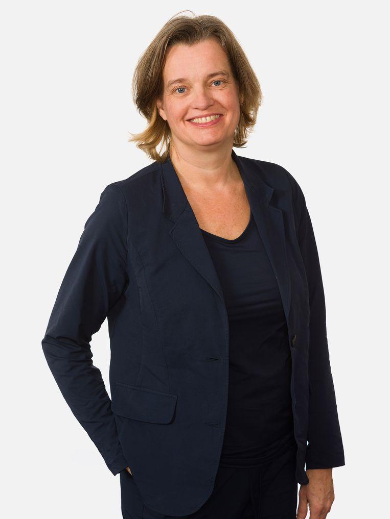 Viroloog Janke Schinkel, van het Amsterdam UMC. Beeld RV