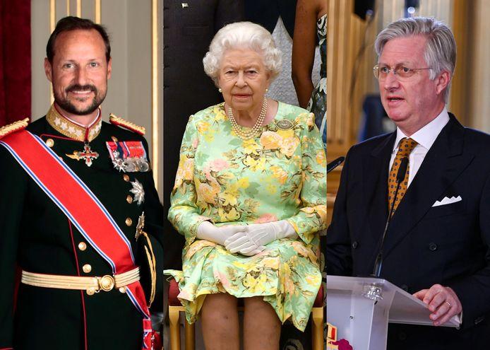 Ook vele royals krijgen een prikje.