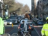 Wegen in Haagse binnenstad slibben dicht