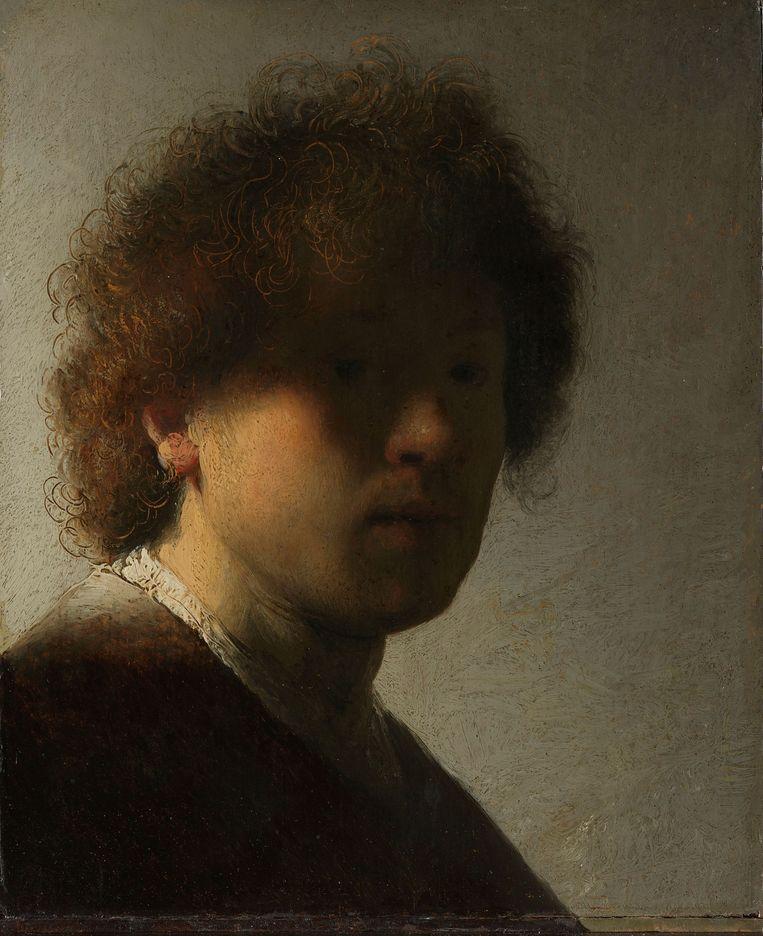 Zelfportret van Rembrandt. Beeld Rijksmuseum Amsterdam