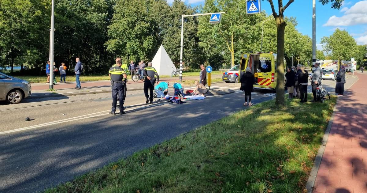 Chaotische taferelen op Broekstraat in Nijmegen: drie ongevallen binnen een uur.