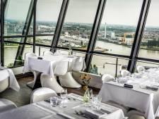 Waanzinnig uitzicht op onze wereldstad tijdens diner in Euromast, maar verwachtingen worden niet waargemaakt