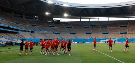 Komt Lewandowski wel los tegen Spanje?