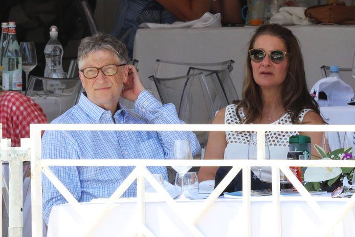 Bill en Melinda Gates .