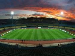 Royal Bakofeng Stadium à Rustenburg.