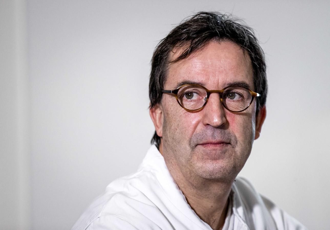 Afdelingshoofd IC Diederik Gommers van het Erasmus MC