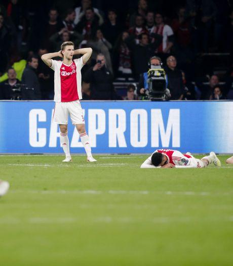 Twitter leeft mee met Ajax: 'Ben er nog steeds ziek, zwak en misselijk van'