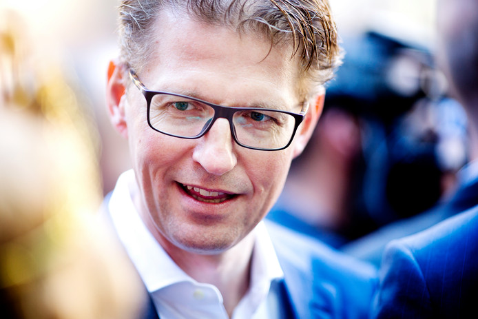 Sander Dekker, minister voor Rechtsbescherming (VVD).