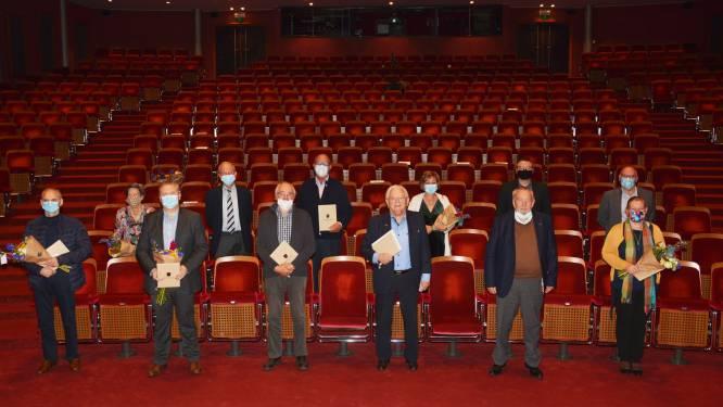 Tien Roeselarenaars beloond met Ereteken voor Cultuurverdienste