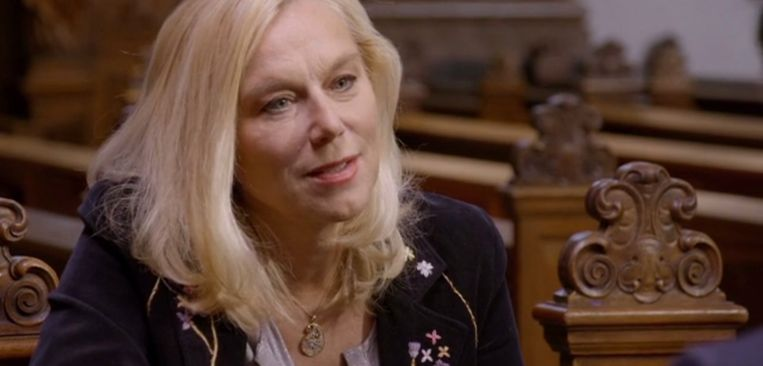 Sigrid Kaag in 'Adieu God' Beeld EO
