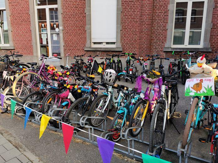 De strapdag in Vrije Basisschool De wijsneus was een groot succes.
