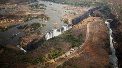 Wereldberoemde Victoriawatervallen dreigen op te drogen