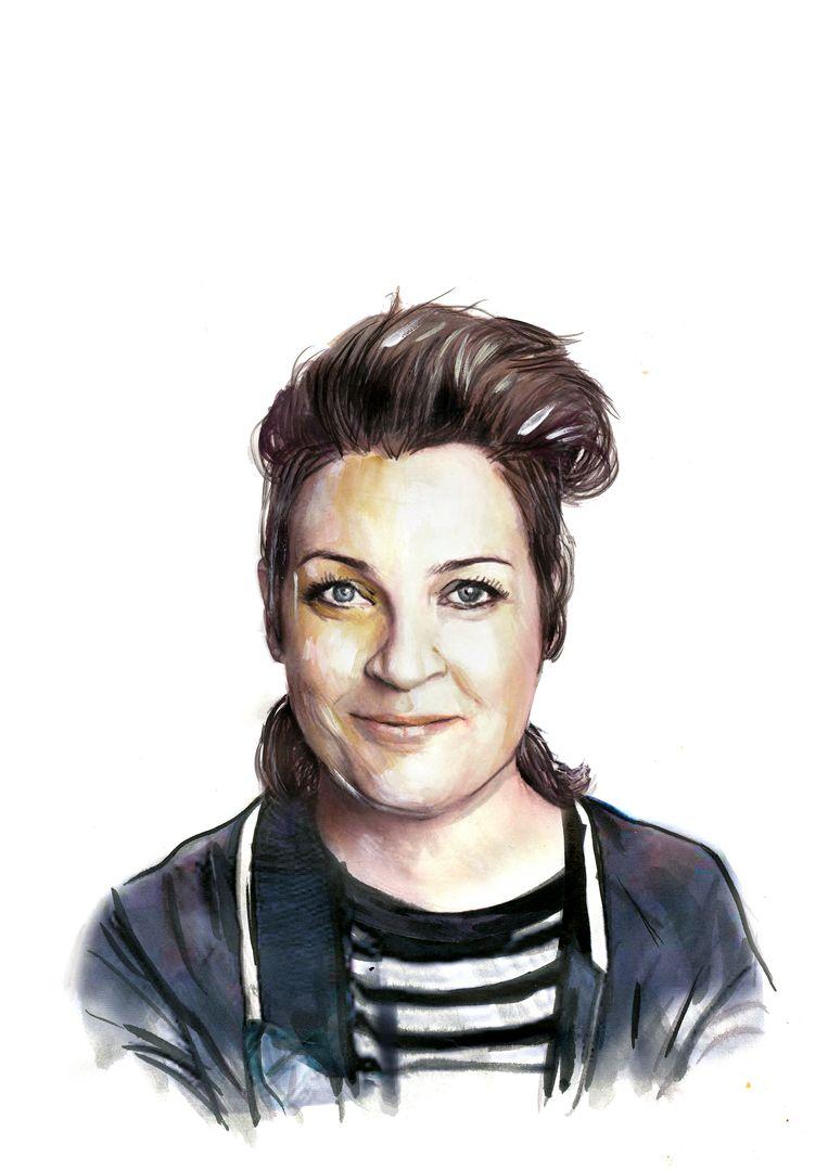 Margriet van der Linden (c) Illustraties Berto Martinez Beeld Berto Martinez