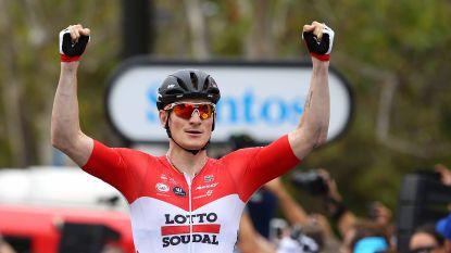 Greipel is de snelste in slotetappe Tour Down Under, Zuid-Afrikaan Impey pakt eindzege
