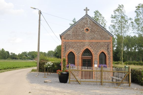 De kapel van St.Job is weer springlevend.