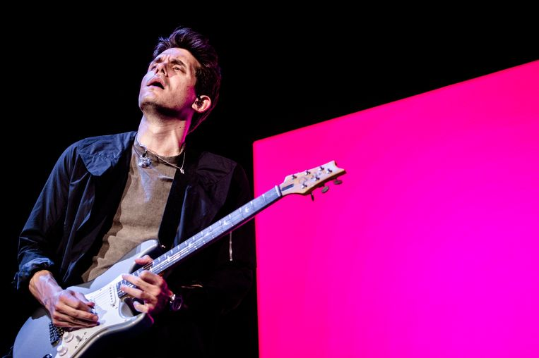 Het gaat om een promo-actie rondom het nieuwe album van John Mayer. Beeld ANP Kippa