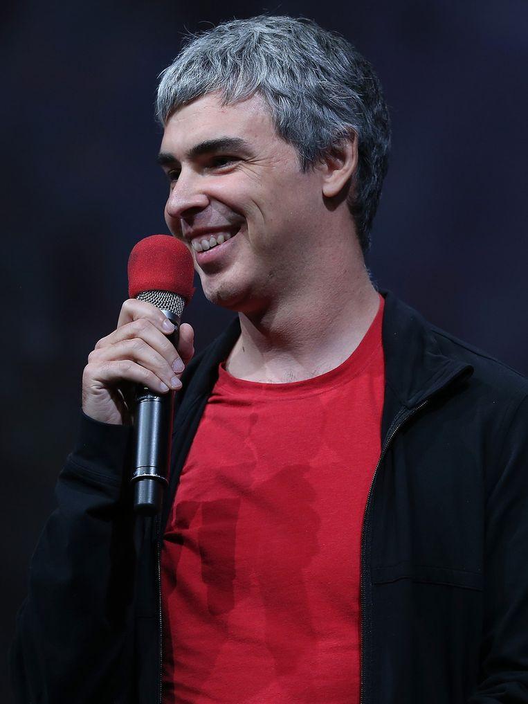 Google-oprichter Larry Page. Beeld getty