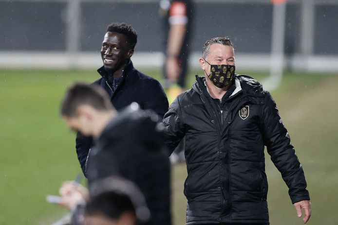 Mbaye Leye peut avoir le sourire: ses joueurs ont parfaitement géré le déplacement à Eupen.