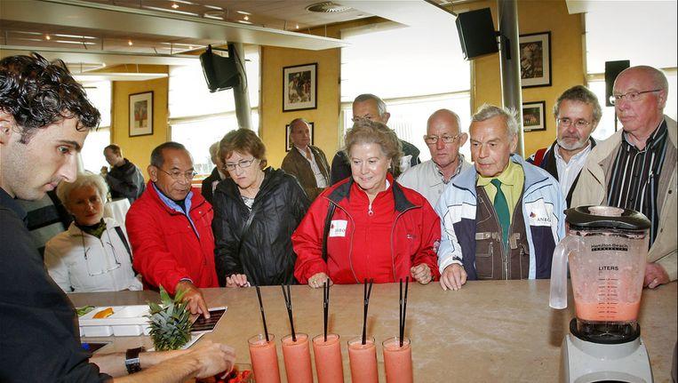 Leden van ANBO tijdens ouderendag. Beeld ANP