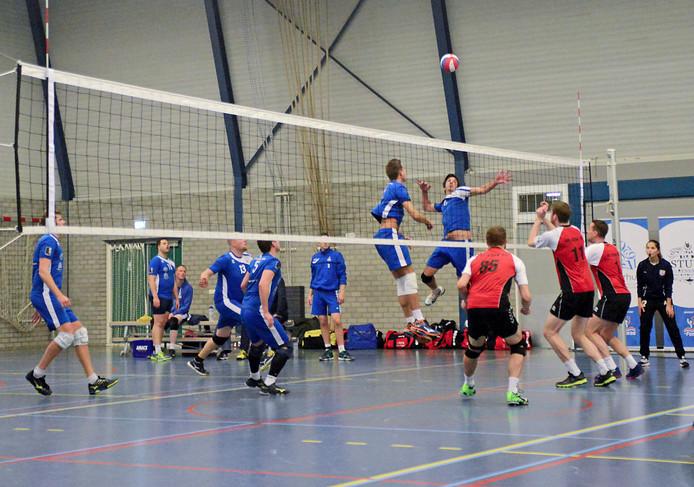De volleyballers van Forza verrassen Atak 2: 3-1.