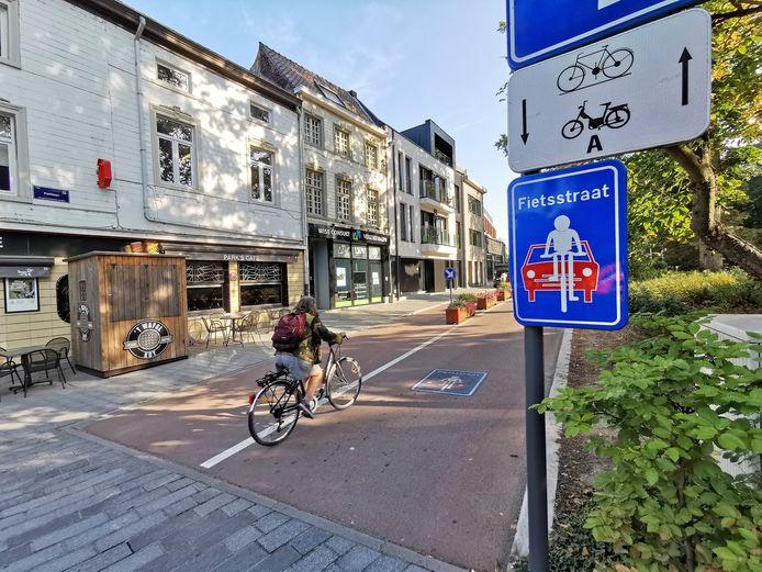 De Parklaan in Halle (illustratiebeeld)