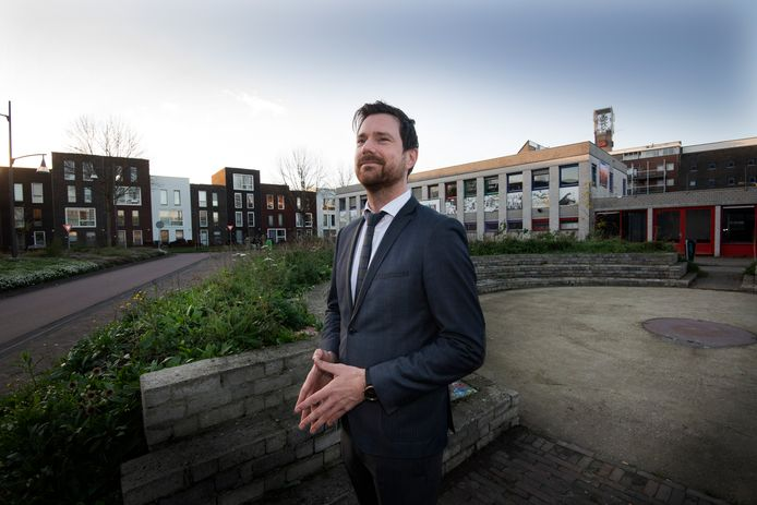 """Wethouder Sander Bos: ,,We moeten kiezen tussen oost of noordwest, allebei een beetje is niet wenselijk."""""""
