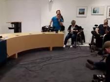 Bekijk terug: de persconferentie over Anne Faber