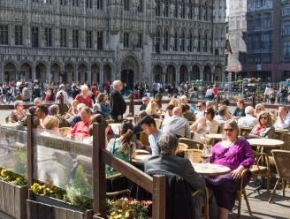 Brussel kleurt opnieuw rood op Europese coronakaart