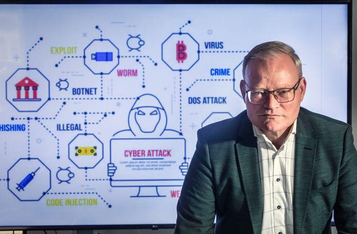 Directeur Arwi van der Sluijs van cyberbedrijf NFIR.