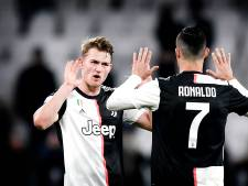 Matthijs de Ligt neemt afscheid van Cristiano Ronaldo: 'Voor mij ben je het perfecte voorbeeld'