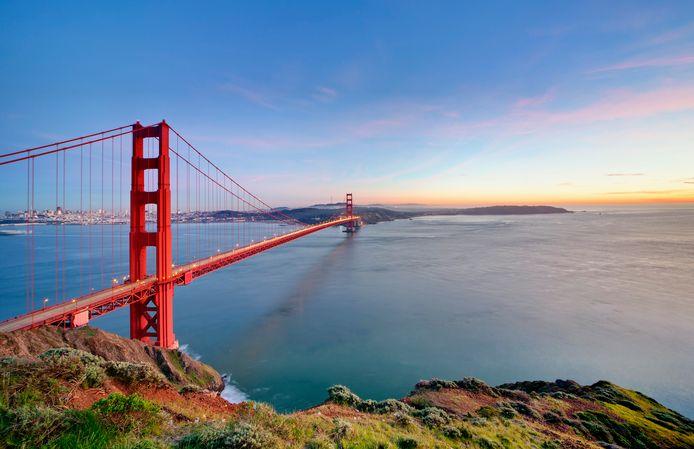 Golden Gate Bridge bij San Francisco: 50Plus ziet zoiets wel zitten tussen Vlissingen en Breskens