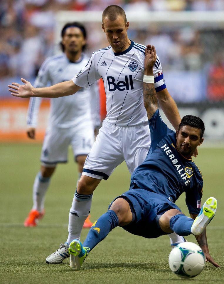 Ook Kenny Miller, die nu in de MLS voor Vancouver speelt, is er niet meer bij. Beeld AP