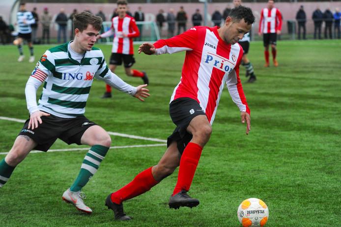 Josimar Pattinama is één van de voetballers met een dubbele afspraak op 20 april.