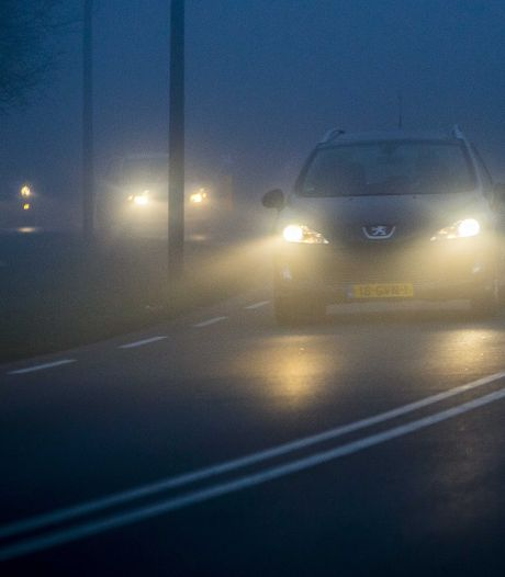 Waarschuwing voor dichte mist in midden en noorden