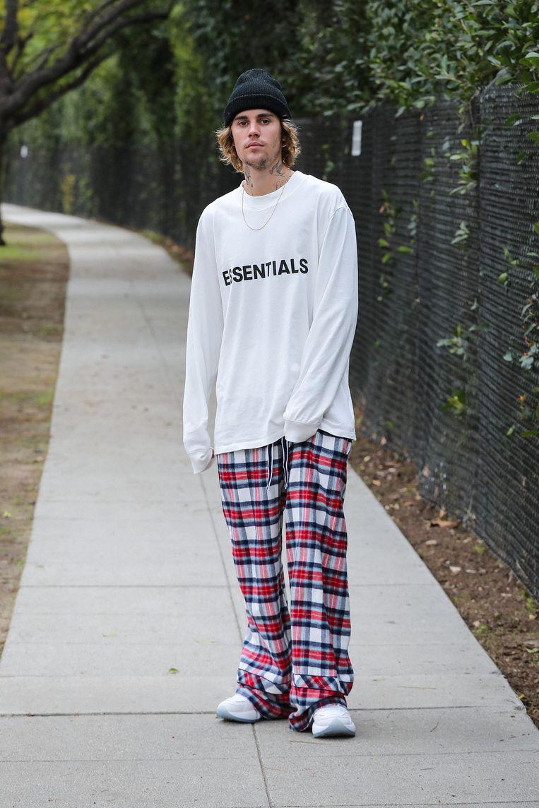 Justin Bieber, februari 2021 in Los Angeles. Beeld GC Images