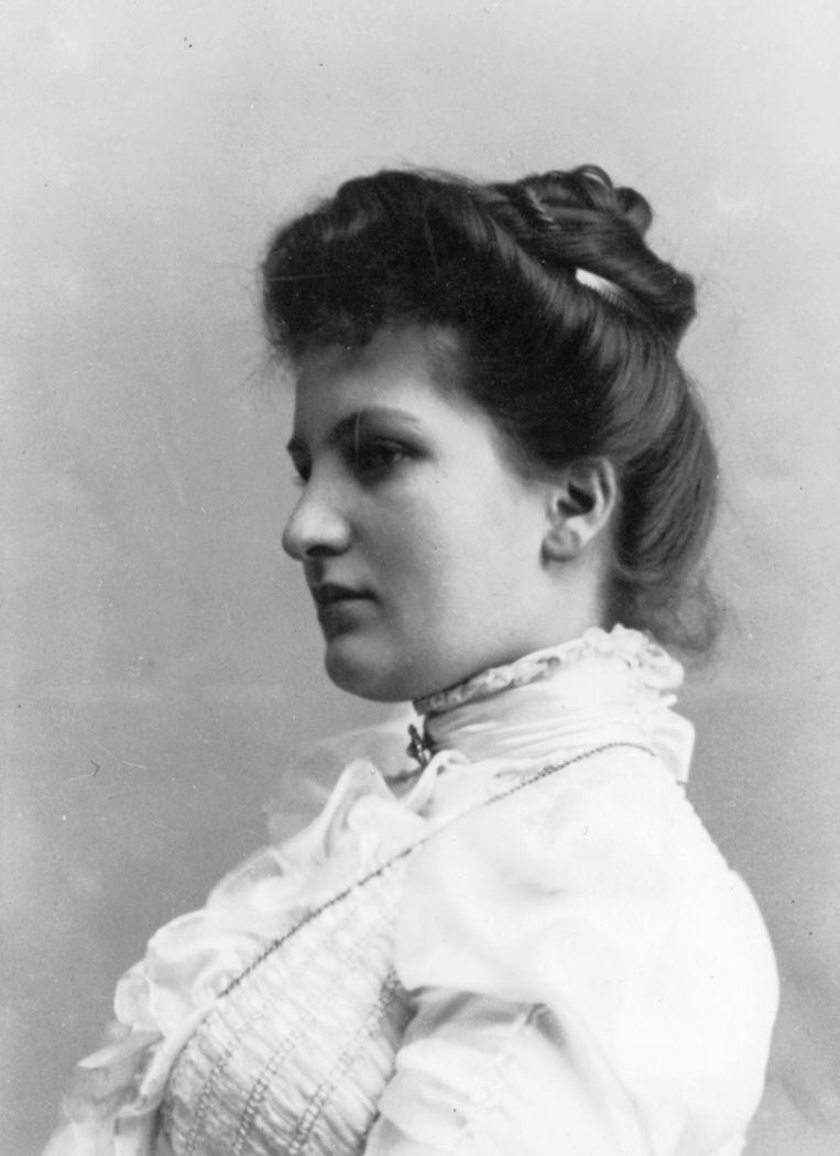 Alma Schindler rond 1900. Beeld Getty