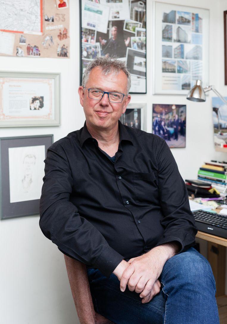 Maarten van Poelgeest: 'Van de krakers in de jaren tachtig was de helft denk ik ook student.' Beeld Nina Schollaardt