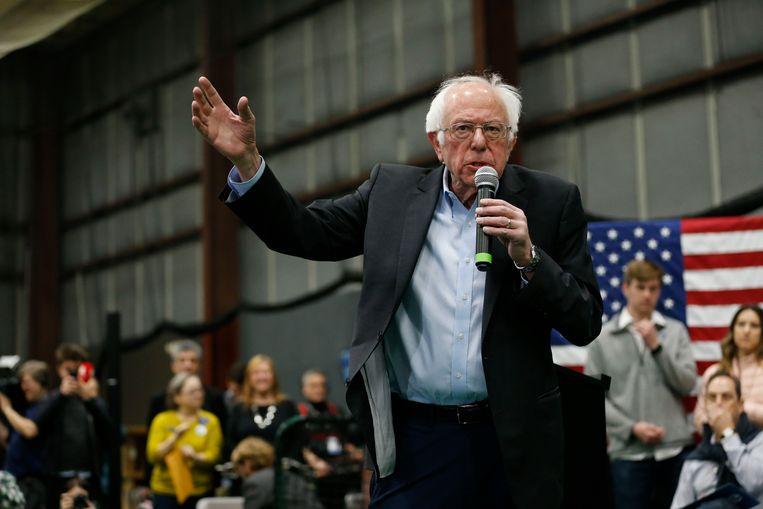 Bernie Sanders Beeld EPA